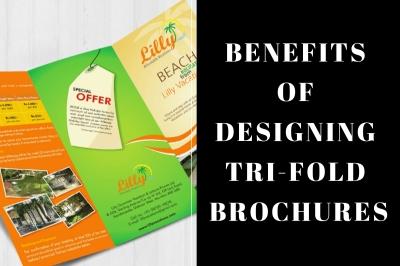 benefits of designing trifold brochures
