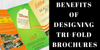 benefits of designing trifold brochures